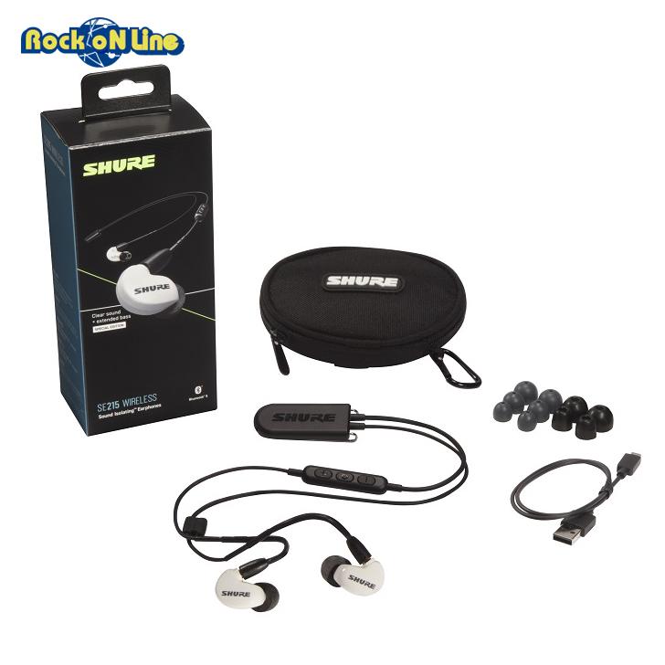 SHURE(シュア) SE215SPE W+BT2 A【イヤホン・イヤーモニター】【Bluetooth】