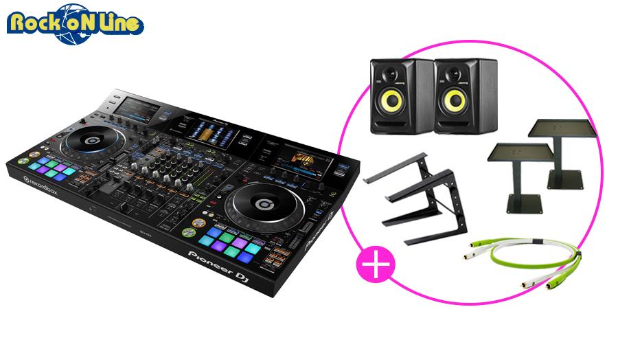 【クーポン配布中!】Pioneer(パイオニア) DDJ-RZX PCDJスタートセット【ターンテーブル】【DJミキサー】【DJスタンド】【モニタースピーカー】【rekordbox DJ】