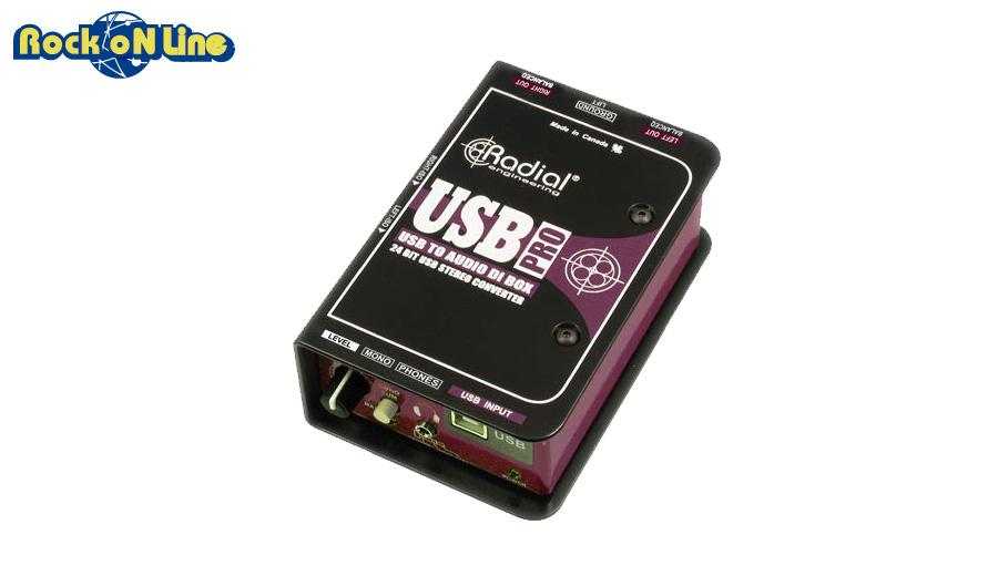 【クーポン配布中!】RADIAL(ラディアル) USB Pro【ダイレクトボックス】【レコーディング】【USB】, 丸万質舗:e7fdd775 --- officewill.xsrv.jp