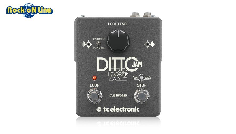 TC Electronic(ティーシーエレクトロニック) DITTO JAM X2 LOOPER【ギターエフェクター】