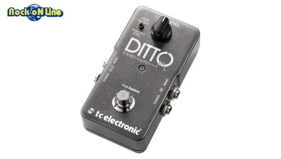【クーポン配布中!】TC Electronic(ティーシーエレクトロニック) DITTO STEREO LOOPER【ギターエフェクター】