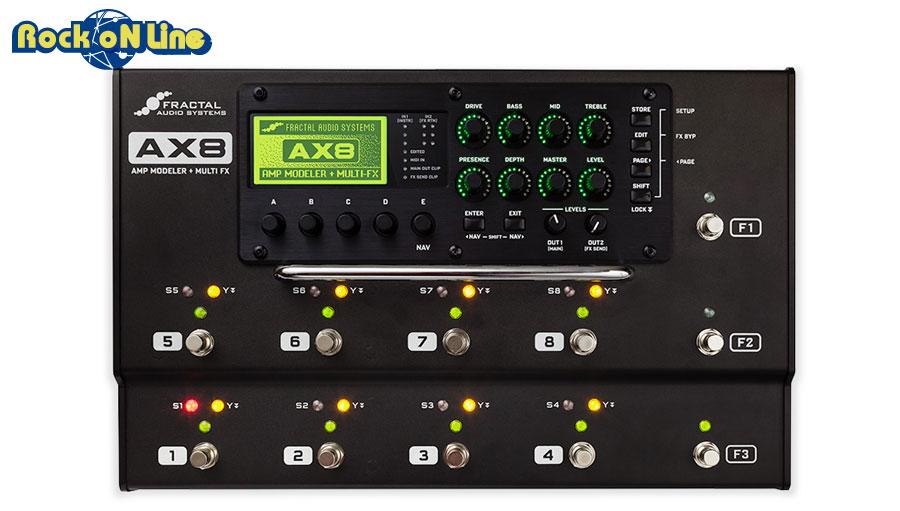 【クーポン配布中!】Fractal Audio Systems(フラクタルオーディオシステムズ) AX8 【ギターアンプ(Amp)・シミュレーター】【ギターエフェクター】