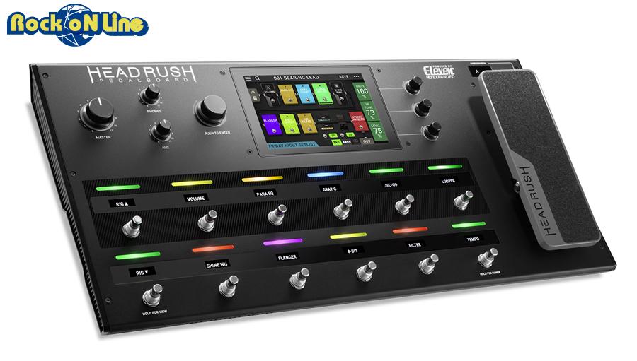 【クーポン配布中!】HEADRUSH(ヘッドラッシュ) PEDALBOARD HR-EFX-001【ギターアンプ(Amp)・シミュレーター】【ギターエフェクター】