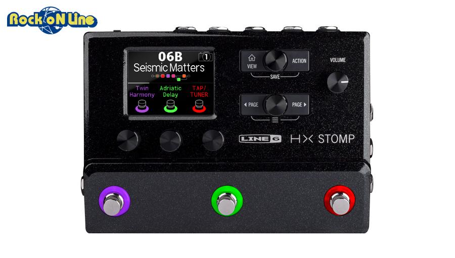 【クーポン配布中!】Line 6(ラインシックス) HX STOMP【ギターアンプ(Amp)・シミュレーター】【ギターエフェクター】