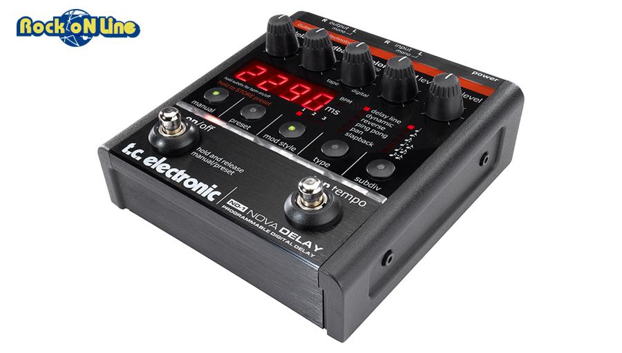 TC Electronic(ティーシーエレクトロニック) ND-1 NOVA DELAY【ギターエフェクター】