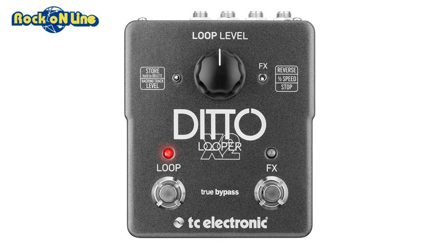 TC Electronic(ティーシーエレクトロニック) DITTO X2 LOOPER【ギターエフェクター】