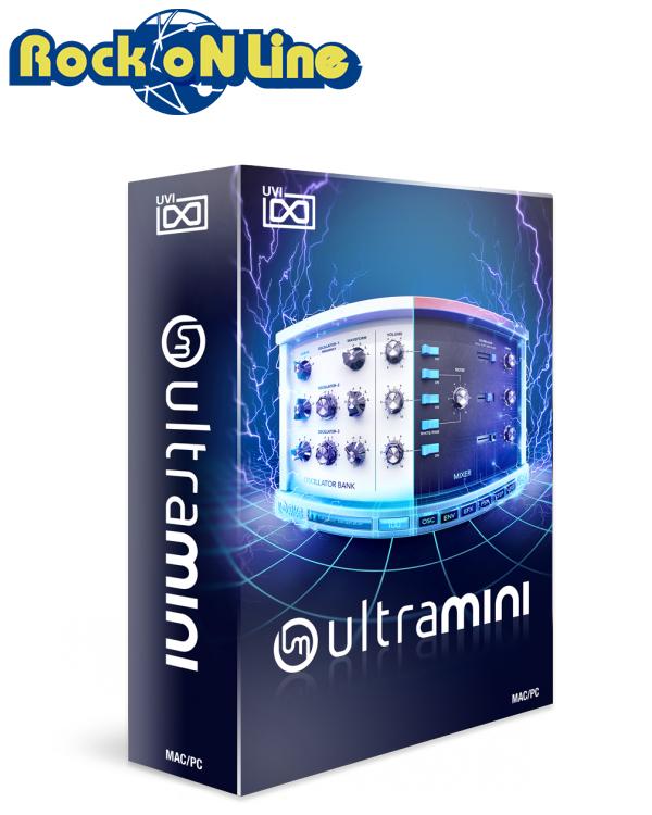 UVI(ユーブイアイ) UltraMini【※シリアルPDFメール納品】【DTM】【シンセサイザー】