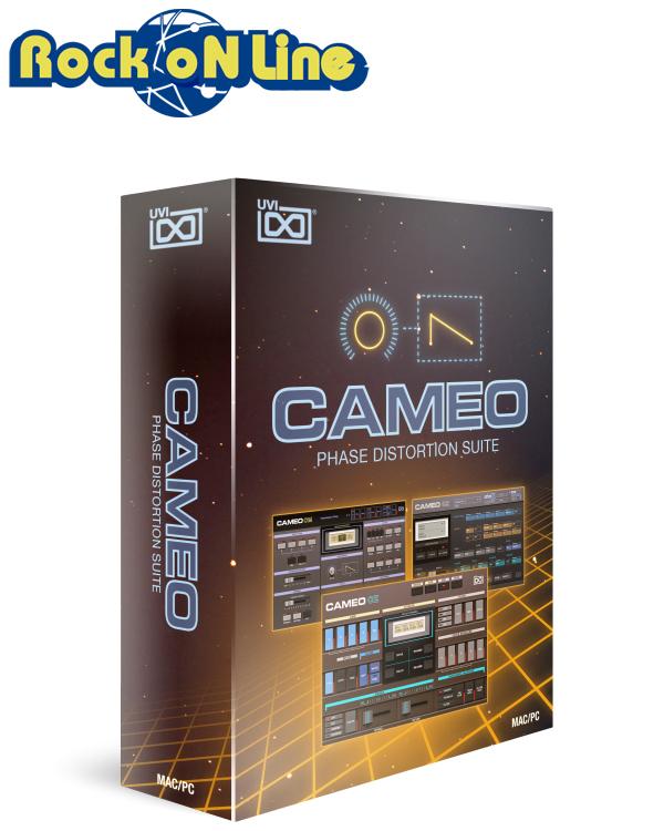UVI(ユーブイアイ) Cameo【※シリアルPDFメール納品】【DTM】【シンセサイザー】