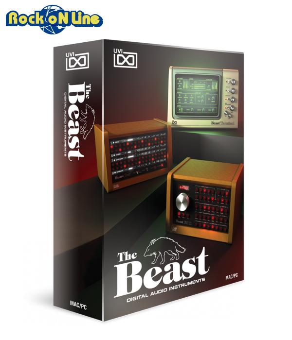 【クーポン配布中!】UVI(ユーブイアイ) The Beast【※シリアルPDFメール納品】【DTM】【シンセサイザー】