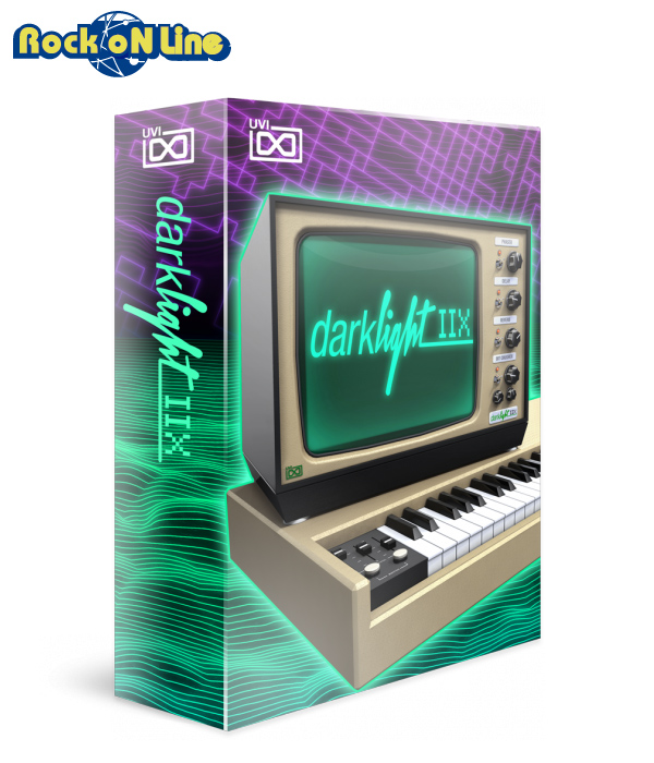 【クーポン配布中!】UVI(ユーブイアイ) Darklight Iix【※シリアルPDFメール納品】【DTM】【シンセサイザー】