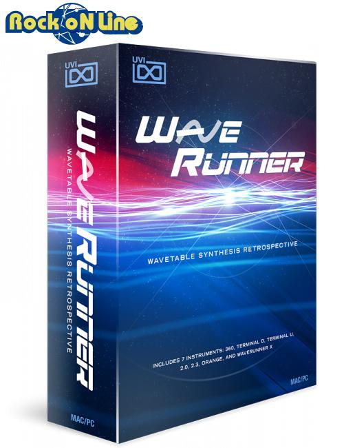 UVI(ユーブイアイ) WaveRunner【※シリアルPDFメール納品】【DTM】【シンセサイザー】