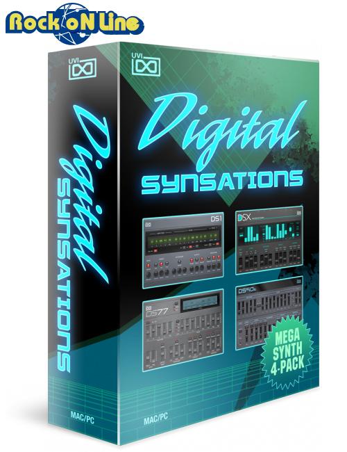 UVI(ユーブイアイ) Digital Synsations【※シリアルPDFメール納品】【DTM】【シンセサイザー】