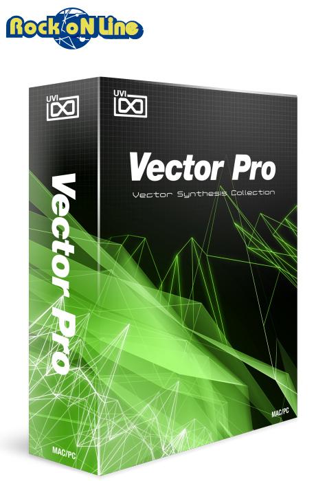 【クーポン配布中!】UVI(ユーブイアイ) Vector Pro【※シリアルPDFメール納品】【DTM】【シンセサイザー】