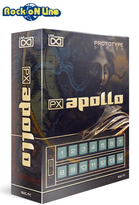 【クーポン配布中!】UVI(ユーブイアイ) PX Apollo【※シリアルPDFメール納品】【DTM】【シンセサイザー】
