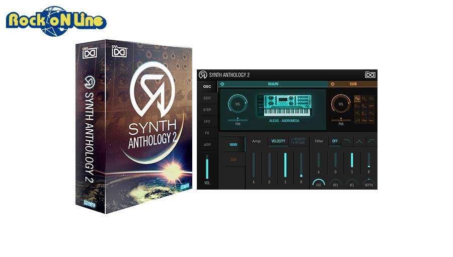 UVI(ユーブイアイ) Synth Anthology 2【※シリアルPDFメール納品】【DTM】【シンセサイザー】