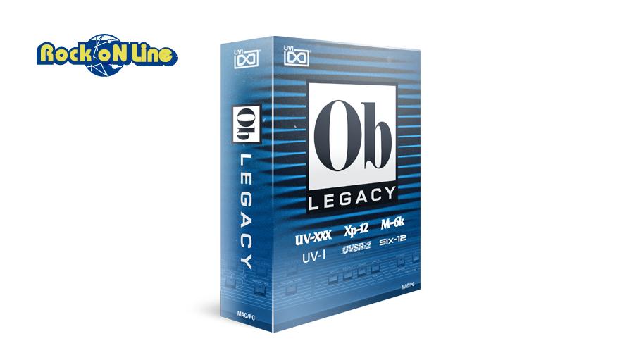 【クーポン配布中!】UVI(ユーブイアイ) OB Legacy【※シリアルPDFメール納品】【DTM】【シンセサイザー】