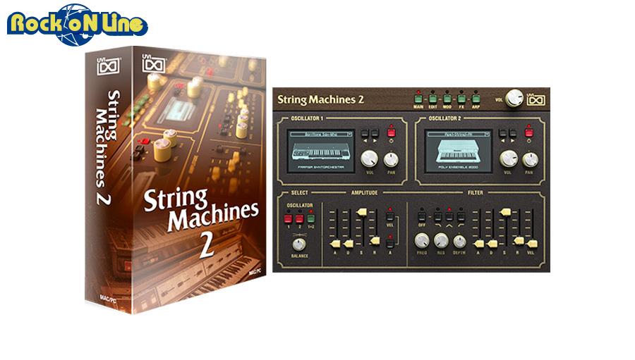 【クーポン配布中!】UVI(ユーブイアイ) String Machines2【※シリアルPDFメール納品】【DTM】【シンセサイザー】