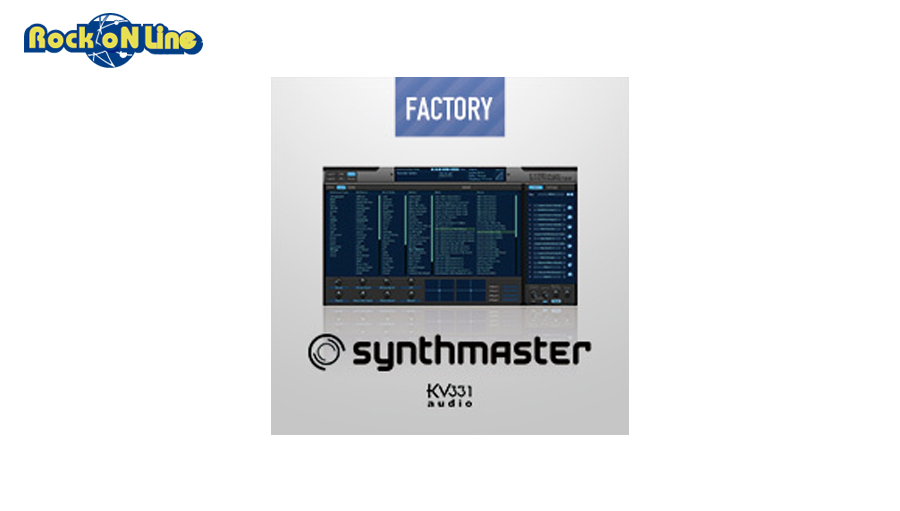 【D2R】KV331 SYNTHMASTER【※シリアルPDFメール納品】【DTM】【ソフトシンセ】