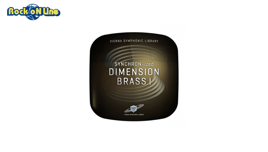 VIENNA(ビエナ) SYNCHRON-IZED DIMENSION BRASS 1【DTM】【オーケストラ音源】