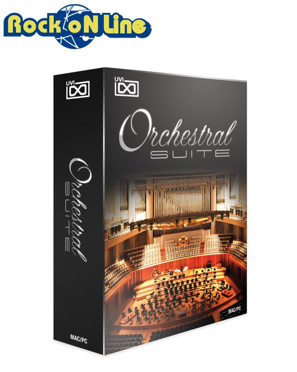 【クーポン配布中!】UVI(ユーブイアイ) Orchestral Suite【※シリアルPDFメール納品】【DTM】【オーケストラ音源】