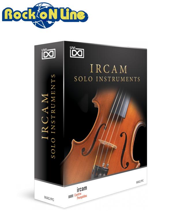 UVI(ユーブイアイ) IRCAM Solo Instruments【※シリアルPDFメール納品】【DTM】【総合音源】