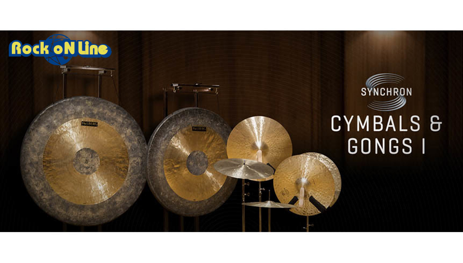 VIENNA(ビエナ) SYNCHRON CYMBALS & GONGS I 【DTM】【オーケストラ音源】