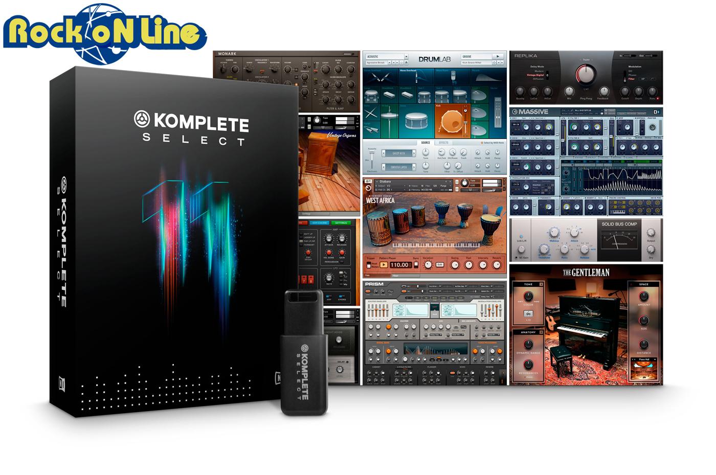 【クーポン配布中!】Native Instruments(ネイティブインストゥルメンツ) KOMPLETE 11 SELECT【DTM】【ソフトシンセ】