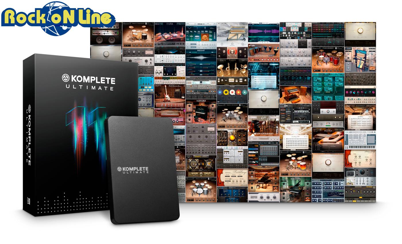【クーポン配布中!】Native Instruments(ネイティブインストゥルメンツ) KOMPLETE 11 ULTIMATE【DTM】【ソフトシンセ】