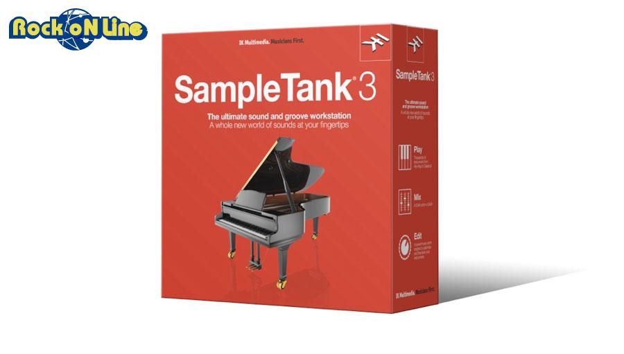 【最大5%OFFクーポン!】IK Multimedia(アイケーマルチメディア) Sample Tank 3【DTM】【ソフトシンセ】【総合音源】【在庫限り特価!】