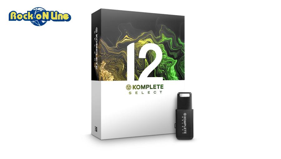 【クーポン配布中!】Native Instruments(ネイティブインストゥルメンツ) KOMPLETE 12 SELECT【DTM】【ソフトシンセ】