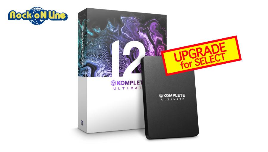 【クーポン配布中!】Native Instruments(ネイティブインストゥルメンツ) KOMPLETE 12 ULTIMATE UPG FOR SELECT【DTM】【ソフトシンセ】