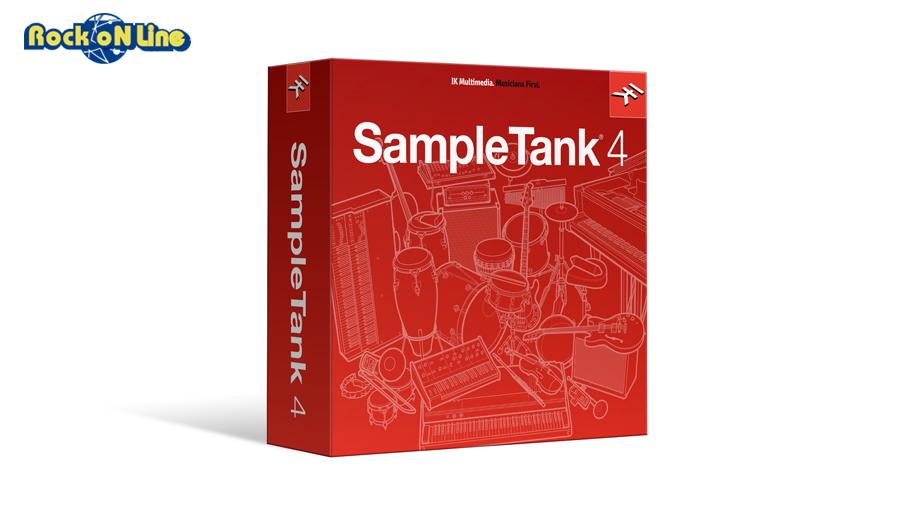 【クーポン配布中!】IK Multimedia(アイケーマルチメディア) SampleTank 4 初回特価版【初回限定特価品!】【DTM】【ソフトシンセ】【総合音源】