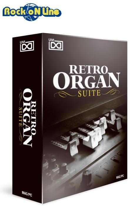 【クーポン配布中!】UVI(ユーブイアイ) Retro Organ Suite【※シリアルPDFメール納品】【DTM】【ピアノ/キーボード音源】
