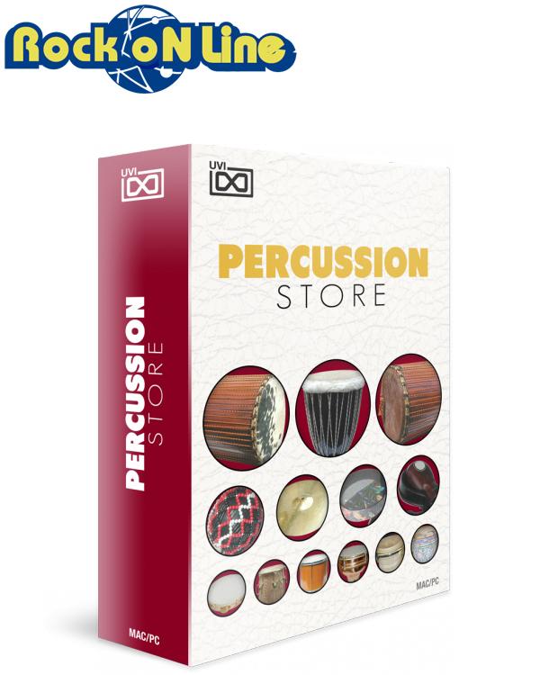 【クーポン配布中!】UVI(ユーブイアイ) Percussion Store【※シリアルPDFメール納品】【DTM】【リズム音源】