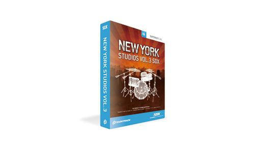 TOONTRACK(トゥーントラック) SDX NEW YORK STUDIO VOL.3【DTM】【ドラム音源】