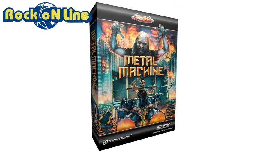 【クーポン配布中!】TOONTRACK(トゥーントラック) EZX Metal Machine【DTM】【ドラム音源】