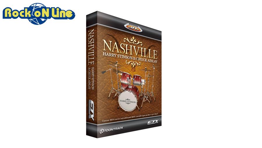 【クーポン配布中!】TOONTRACK(トゥーントラック) EZX Nashville【DTM】【ドラム音源】