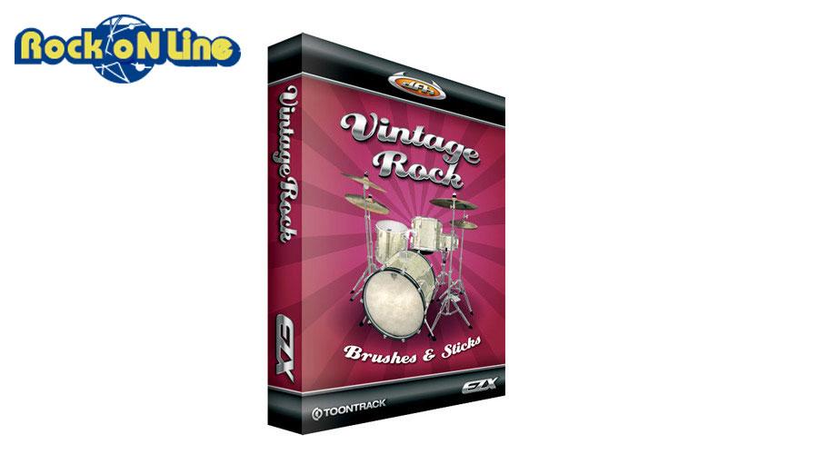 【クーポン配布中!】TOONTRACK(トゥーントラック) EZX Vintage Rock【DTM】【ドラム音源】