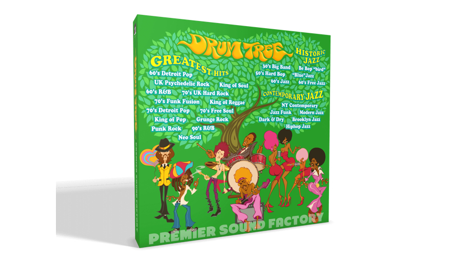 PREMIER SOUND FACTORY(プレミア サウンド ファクトリー) Drum Tree【シリアルメール納品】【DTM】【ドラム音源】