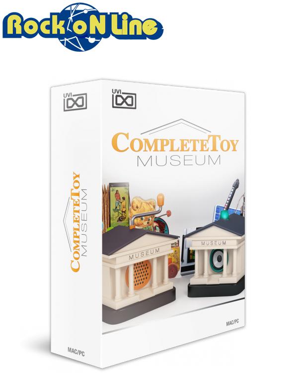 【クーポン配布中!】UVI(ユーブイアイ) Complete Toy Museum【Fte de la Musiqu(音楽の日)キャンペーン!在庫限り50%OFF!】【※シリアルPDFメール納品】【DTM】