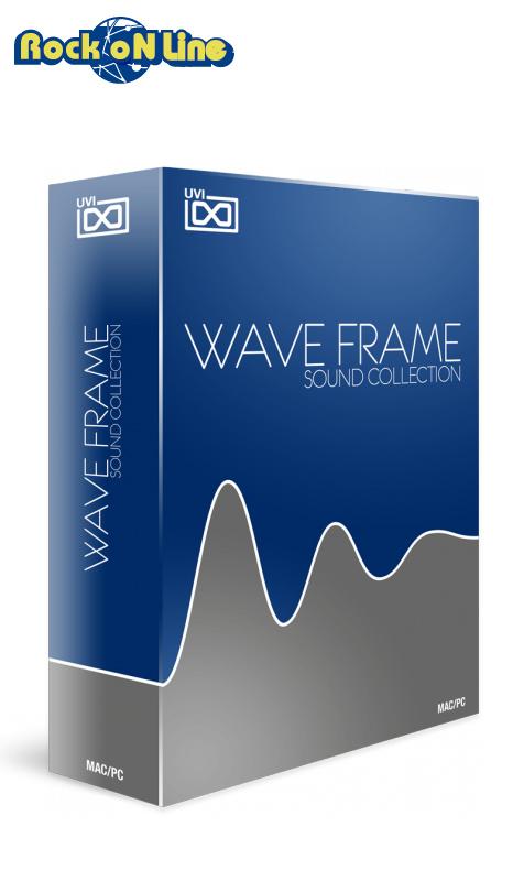 【クーポン配布中!】UVI(ユーブイアイ) WaveFrame Sound Collection【※シリアルPDFメール納品】【DTM】【シンセサイザー】