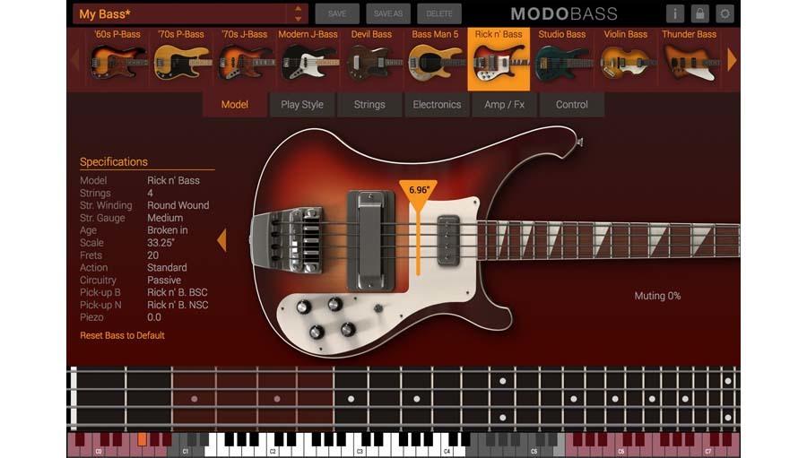 【クーポン配布中!】IK Multimedia(アイケーマルチメディア) MODO BASS クロスグレード【DTM】【ソフトシンセ】【ベース音源】