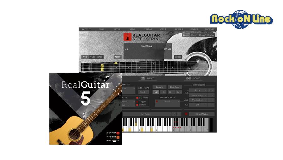 【クーポン配布中!】MUSIC LAB(ミュージックラボ) REAL GUITAR 5 / BOX【DTM】【ソフトシンセ】【ギター音源】