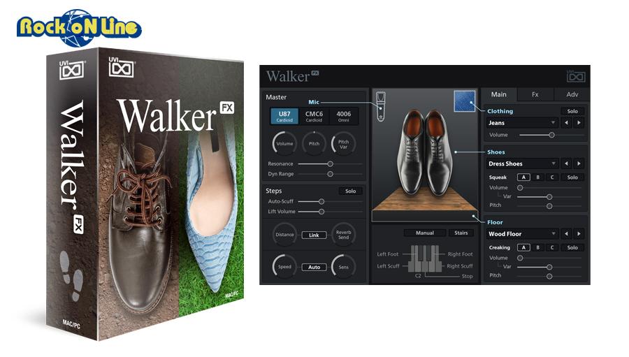 【クーポン配布中!】UVI(ユーブイアイ) Walker【※シリアルPDFメール納品】【DTM】