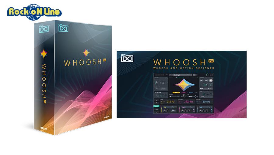 UVI(ユーブイアイ) Whoosh FX【※シリアルPDFメール納品】【DTM】