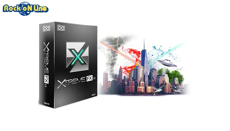 UVI(ユーブイアイ) Xtreme FX【※シリアルPDFメール納品】【DTM】【シンセサイザー】