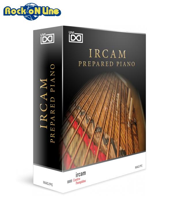 【クーポン配布中!】UVI(ユーブイアイ) IRCAM Prepared Piano【※シリアルPDFメール納品】【DTM】【ピアノ/キーボード音源】