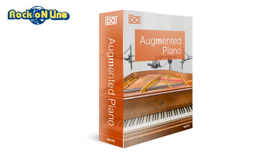 【クーポン配布中!】UVI(ユーブイアイ) Augmented Piano【※シリアルPDFメール納品】【DTM】【ピアノ/キーボード音源】