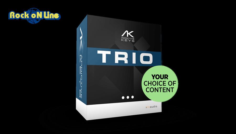 【クーポン配布中!】xlnaudio(エックスエルエヌオーディオ) Addictive Keys Trio Bundle 簡易パッケージ版【台数限定特価!】【DTM】【ドラム音源】