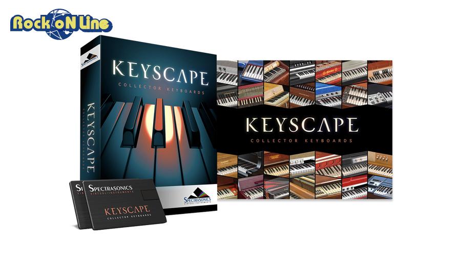 【3%OFFクーポン配布中】SPECTRASONICS(スペクトラソニックス) Keyscape【数量限定プロモ特価!】【DTM】【ピアノ音源】